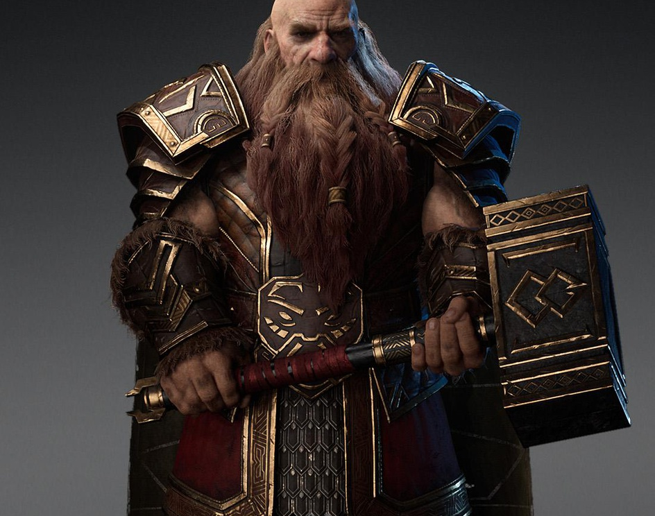 Dwarf Warriorby HoOman