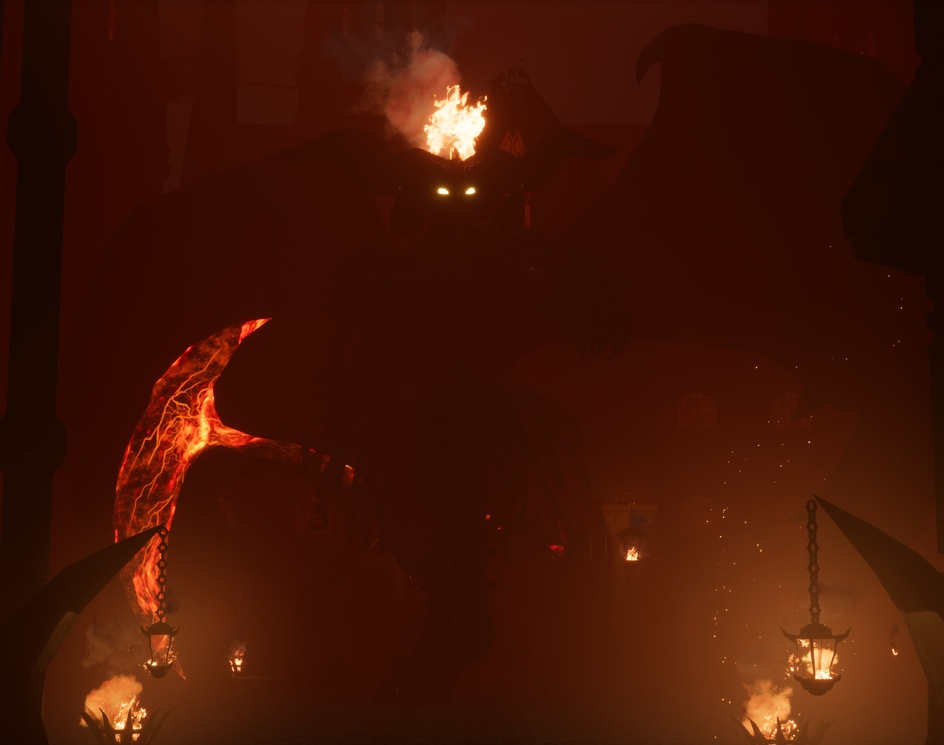 Rakdos, Lord of Riots - Fanart - Magic the gatheringby Felipe Bomfim