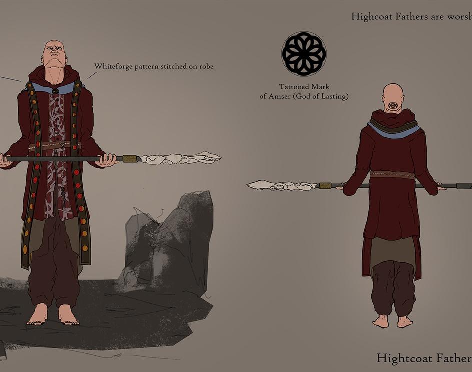 Knights of Requiem & Highcoat Fathersby Tom J Davis