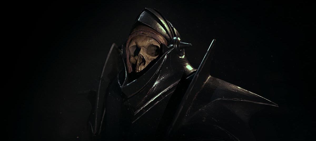 Alexandr Novitskiy Hollow Knight dark fantasy skull skeleton armour