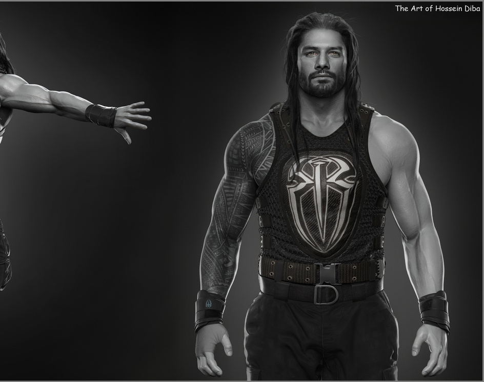 Roman Reigns done for WWEby Hossein_Diba