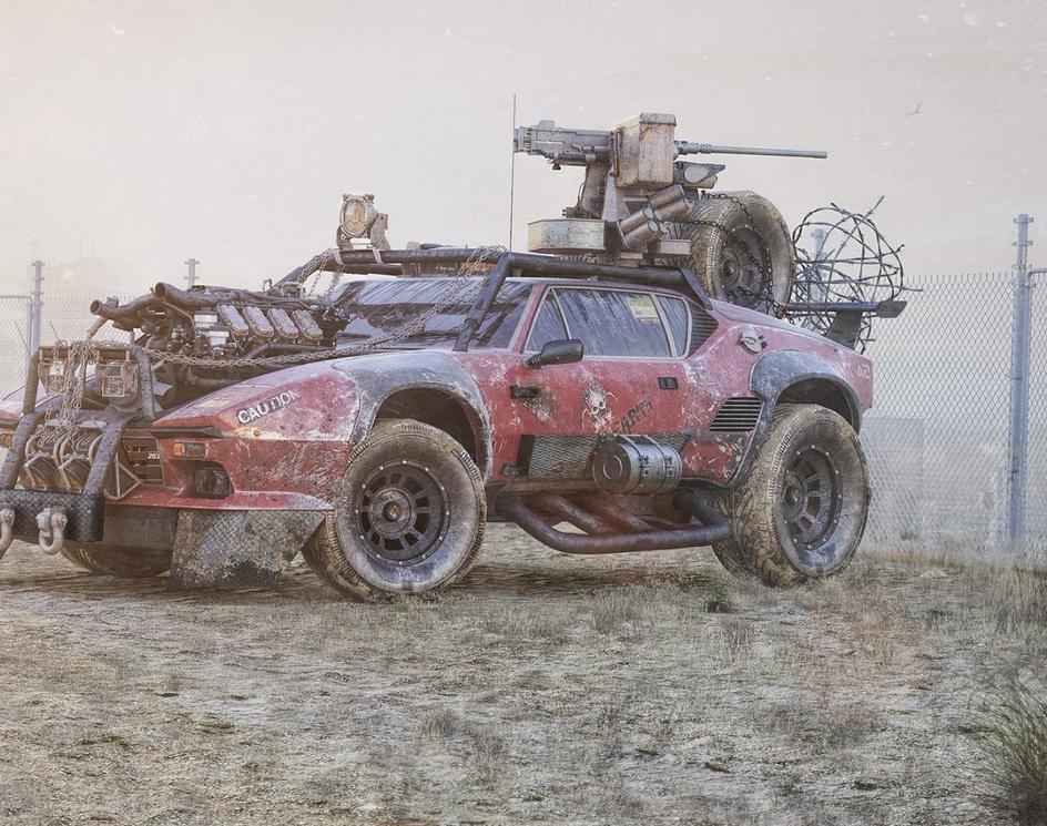 Post Apocalyptic Zombie Hunterby houmam