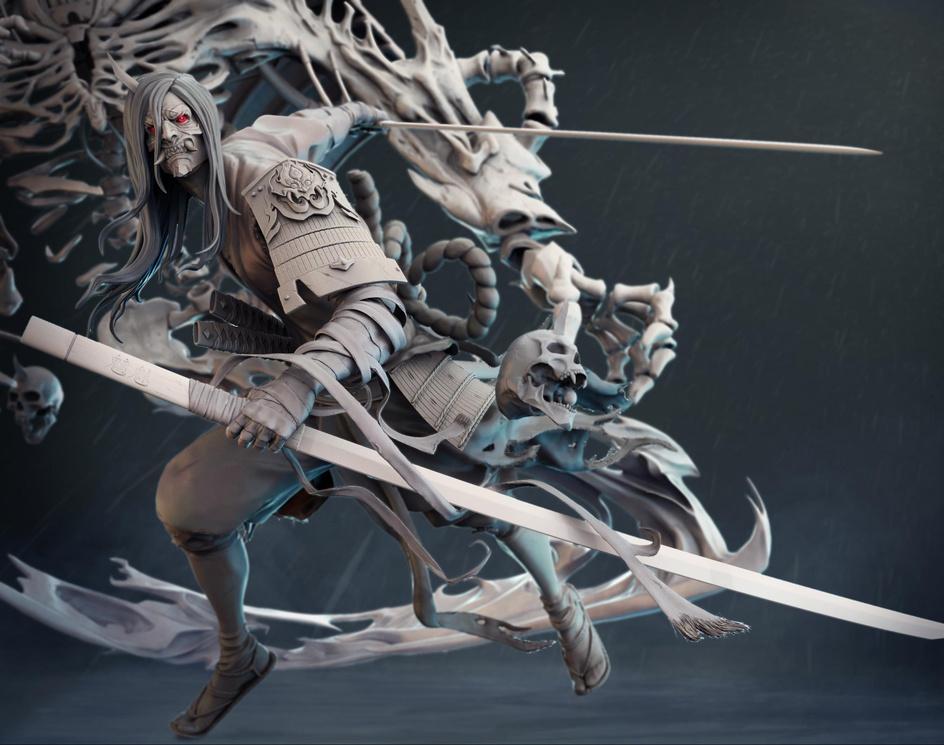 Chaos samurai 风·夜叉明王尊by kidd_555