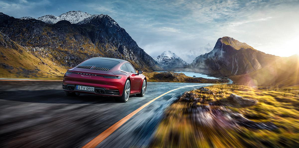 car advertisement 3d modelling