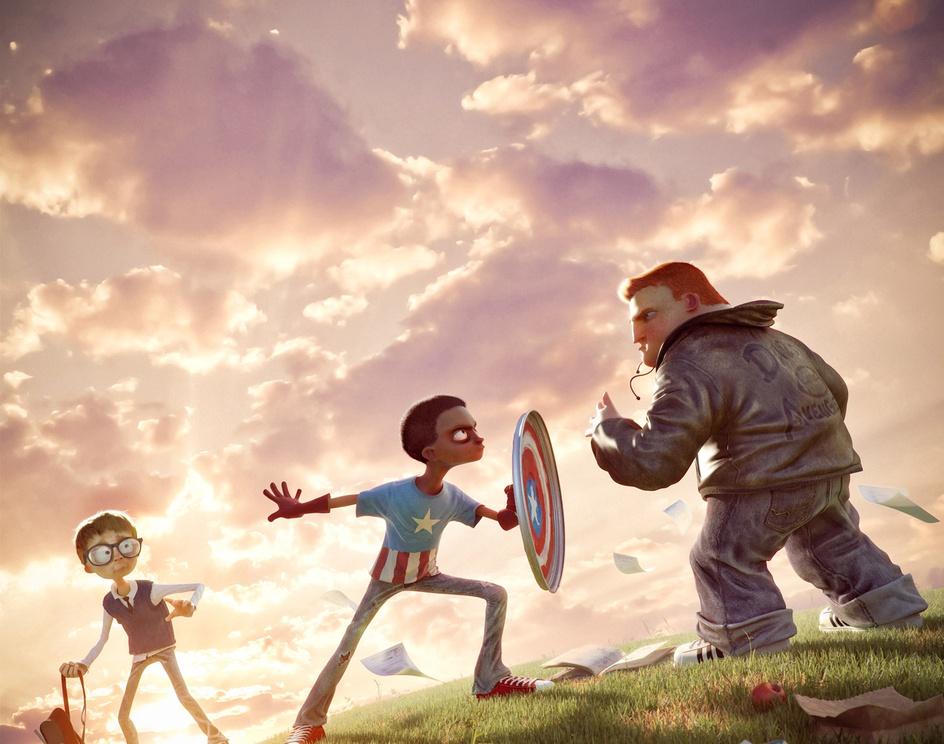 I am Captain Americaby Victor Hugo Queiro