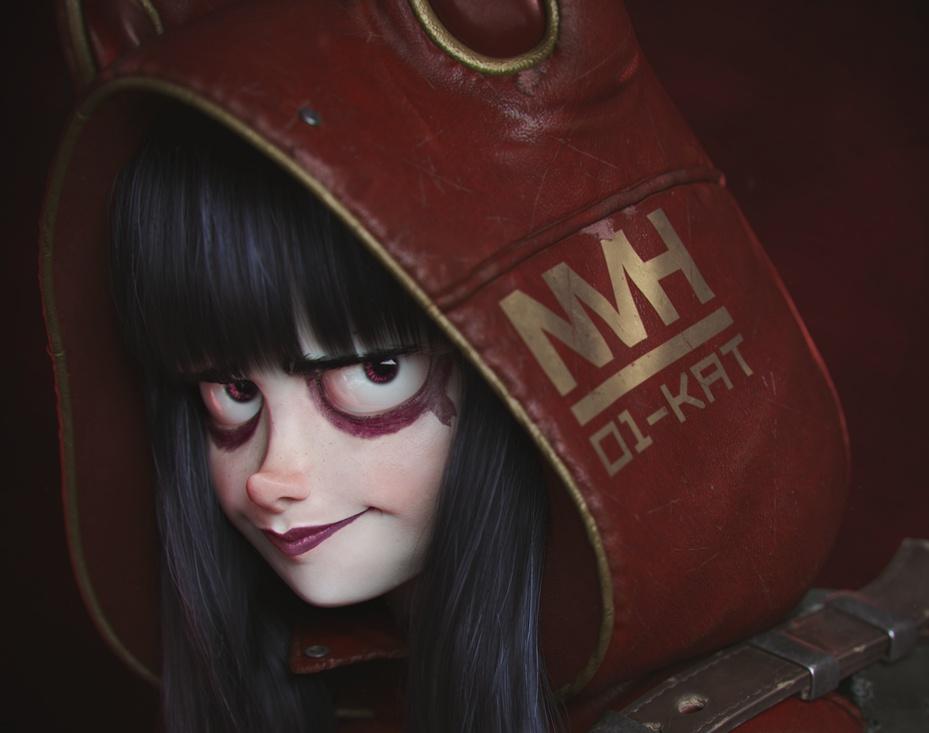 Post Apocalyptic Girl #XXby Victor Hugo Queiroz
