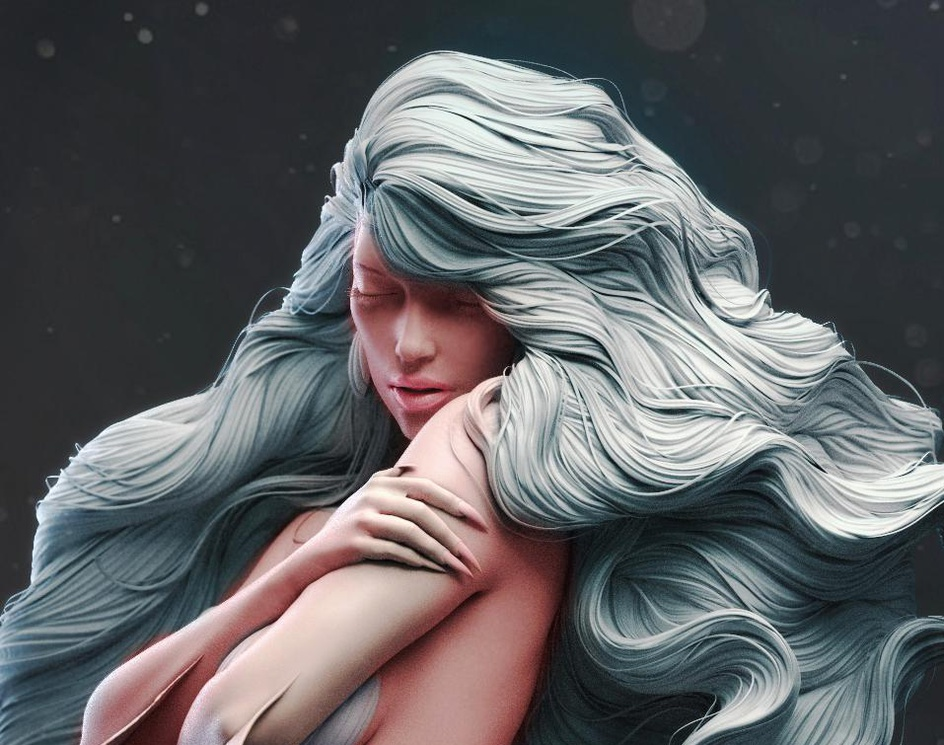 """ Mermaid ""by Somen_Cg"