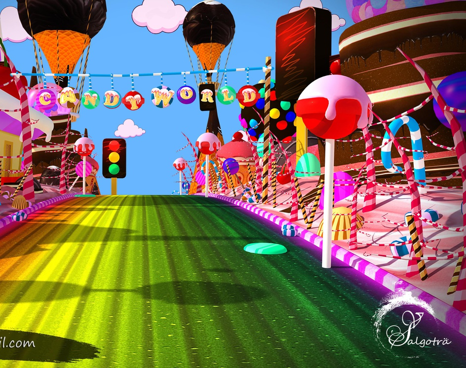 Candy Worldby Vishal Salgotra