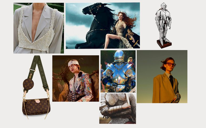 fashion and power moodboard