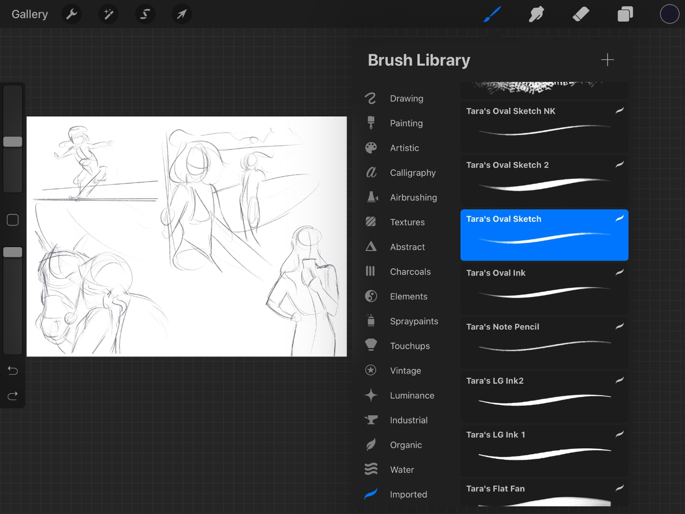 brush library gallery procreate design illustration tip