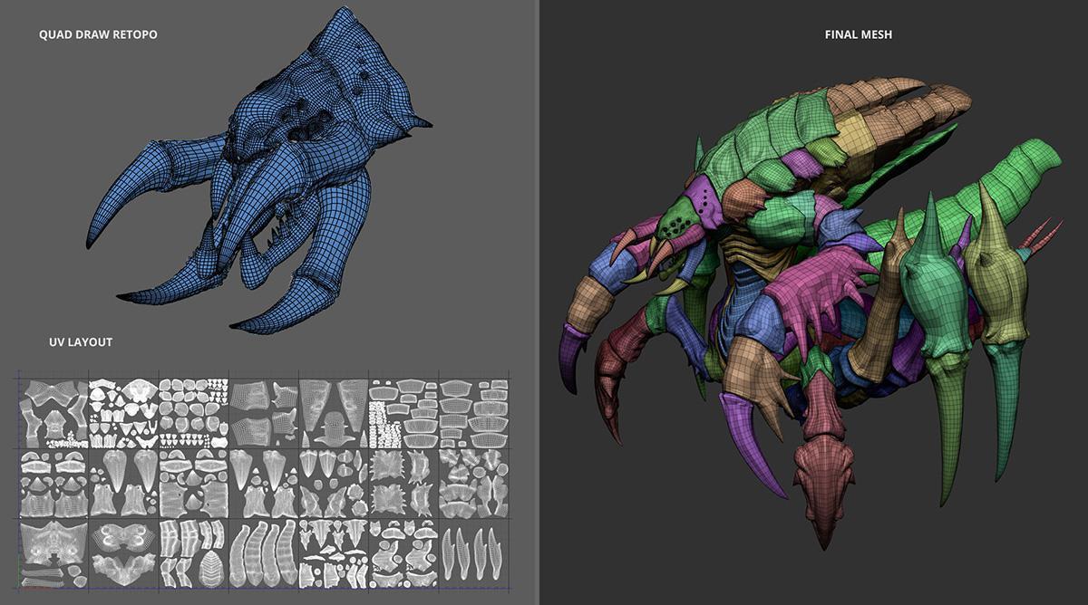 arthropod retropology 3d model