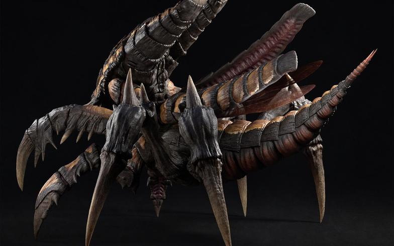 arthropod creature design vfx