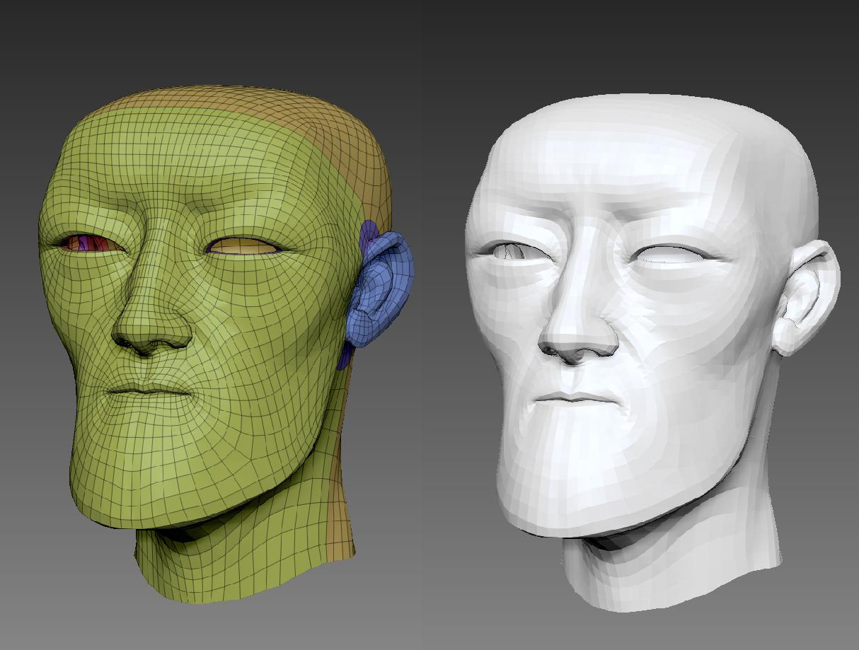 Clean topology dynameshed modeling rendering clean sculpt 3d