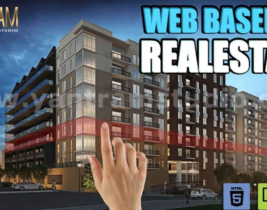 Interactive Web-Based Real Estate virtual reality apps development by Architectural animation services, London - Canadaby Ruturaj Desai