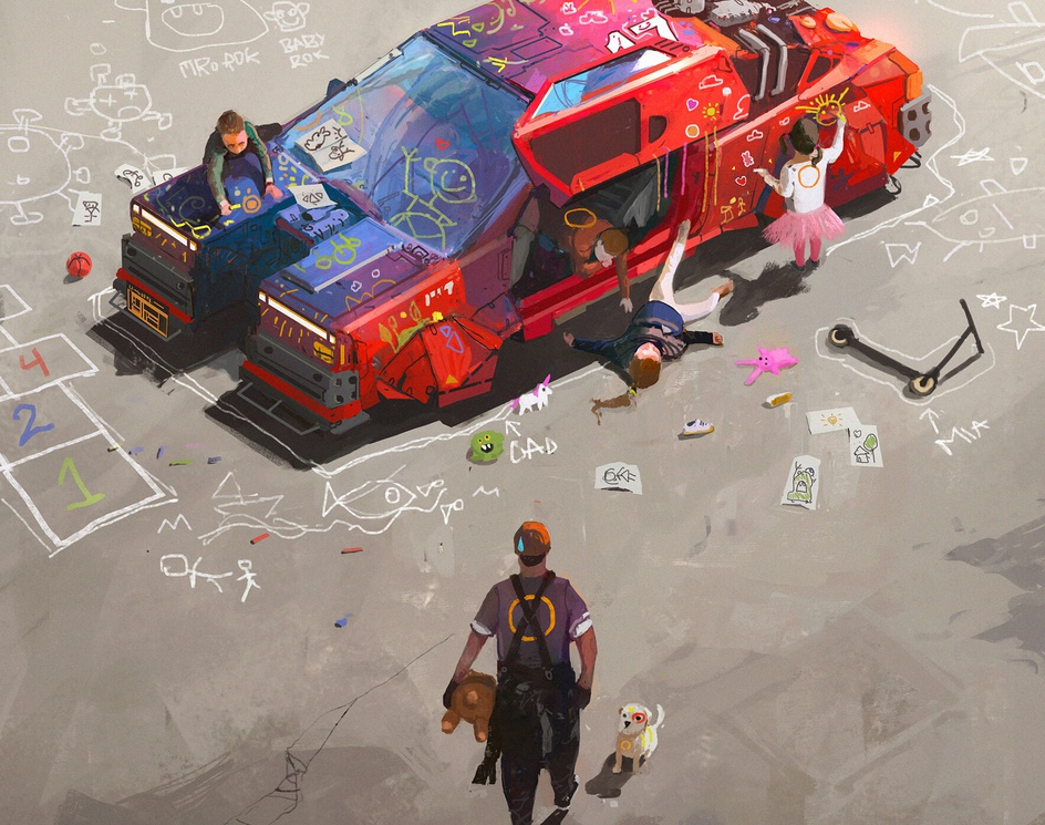 Help!by Ismail Inceoglu