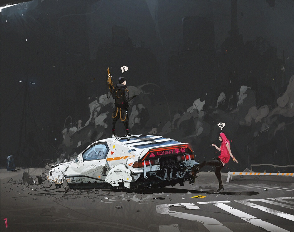 Out of Nowhereby Ismail Inceoglu