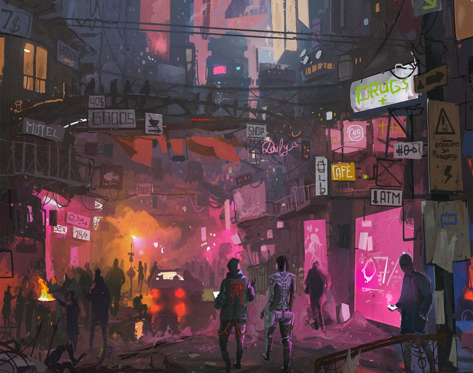 The Winter Marketby Ismail Inceoglu