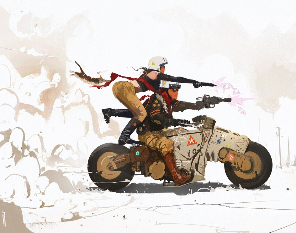 Two Fastby Ismail Inceoglu