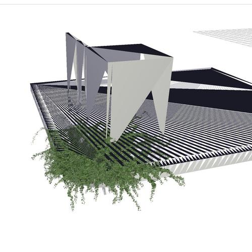 vine generator  greenery 3d model blender