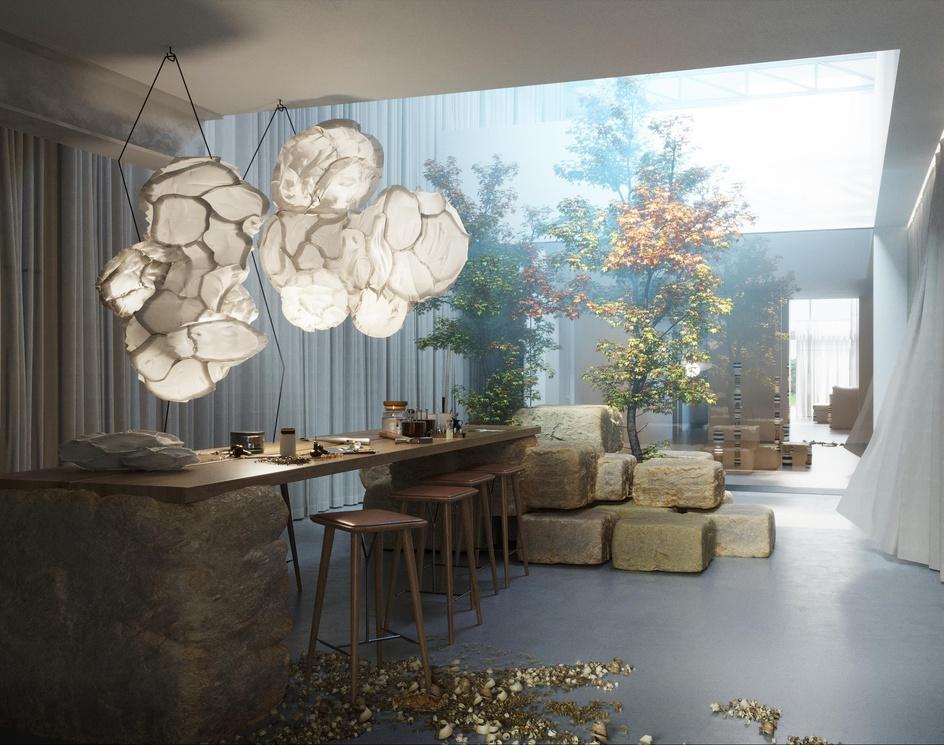 Paper Lantern Artist's House, Canadaby vicnguyendesign