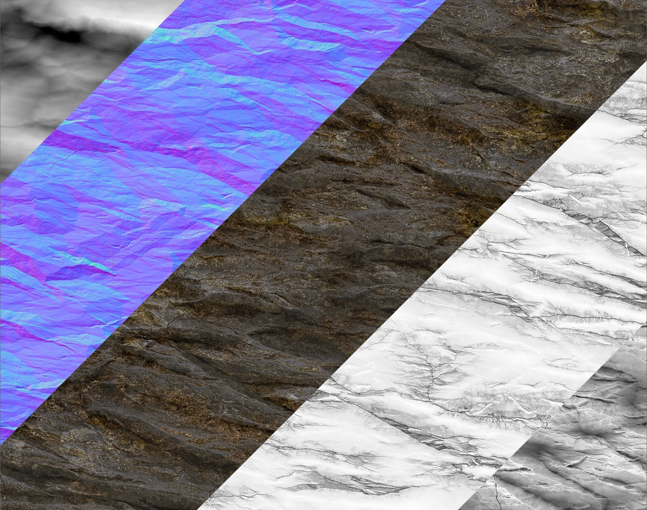 Procedural Jagged Rock Material - Substance Designerby Marc Virgili