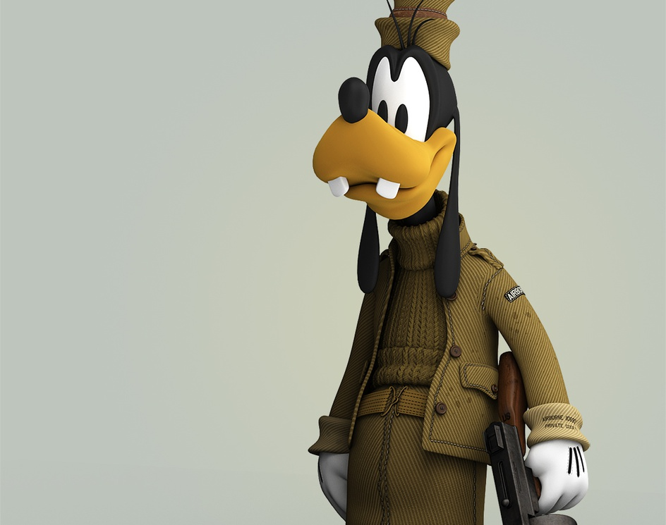 Private Goofyby Jaime Otegui