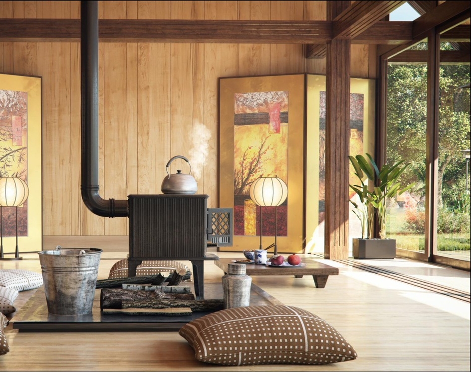 Japanese roomby Aref Razavi