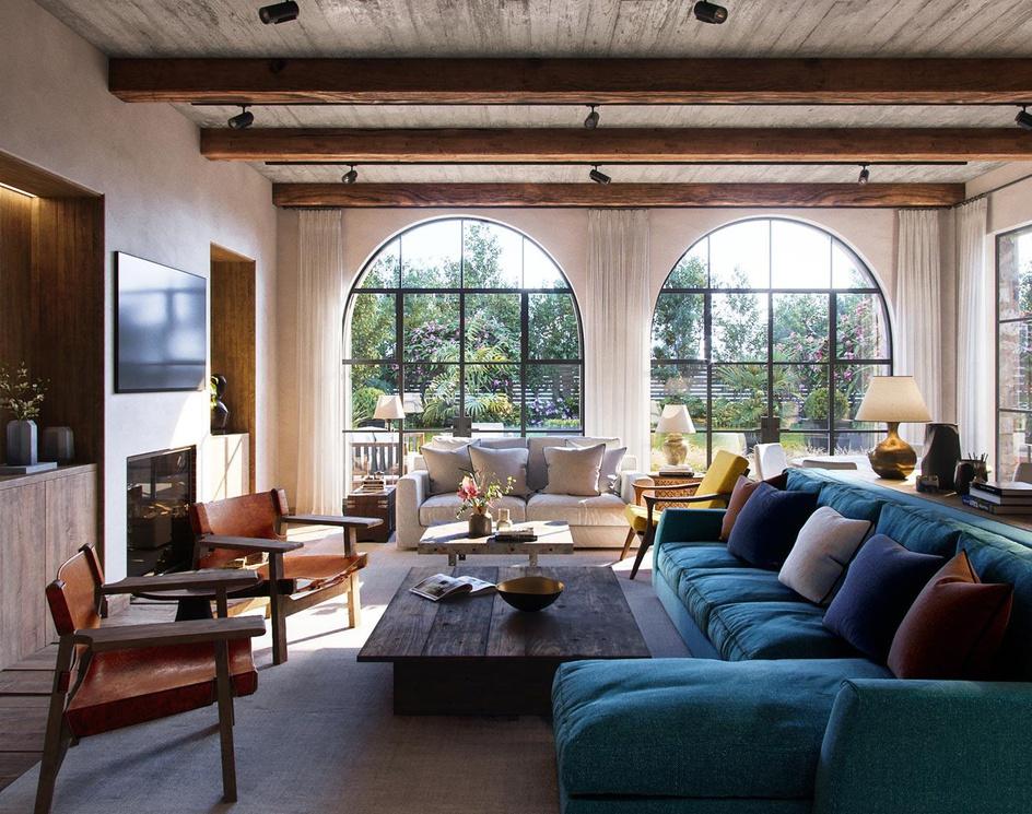 Rustic Living roomby preet honey