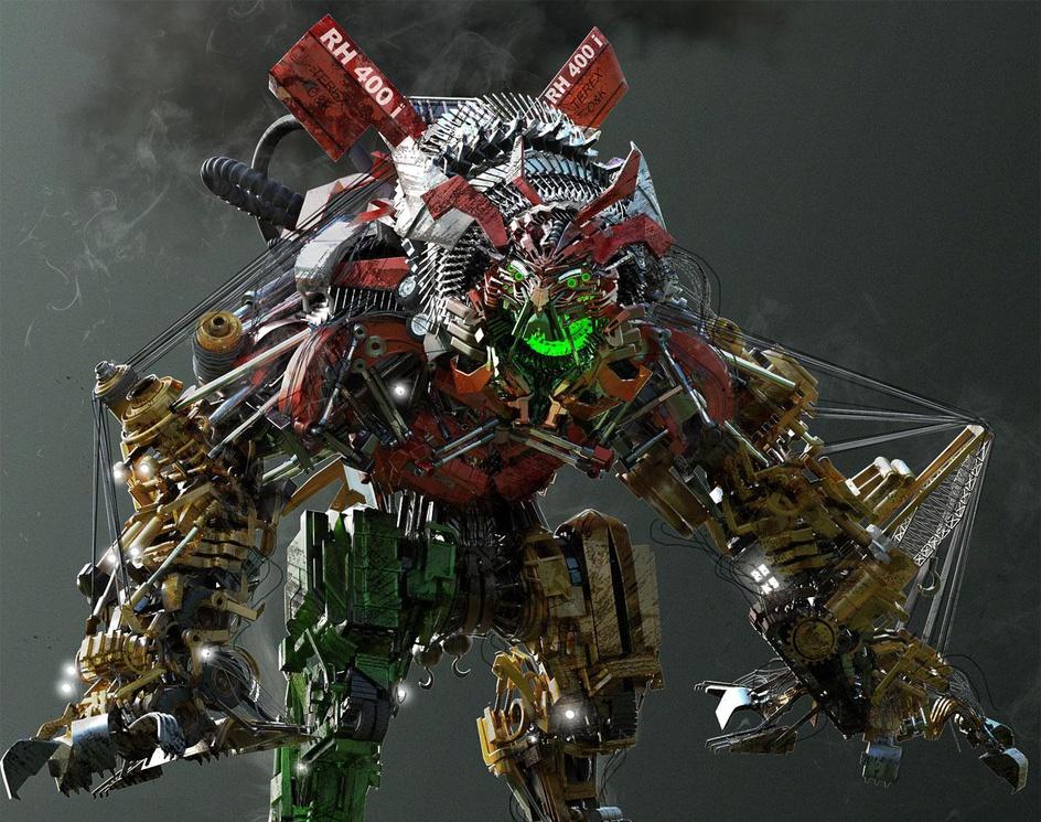 (Transformers)Devastatorby JayKrushna Rawool