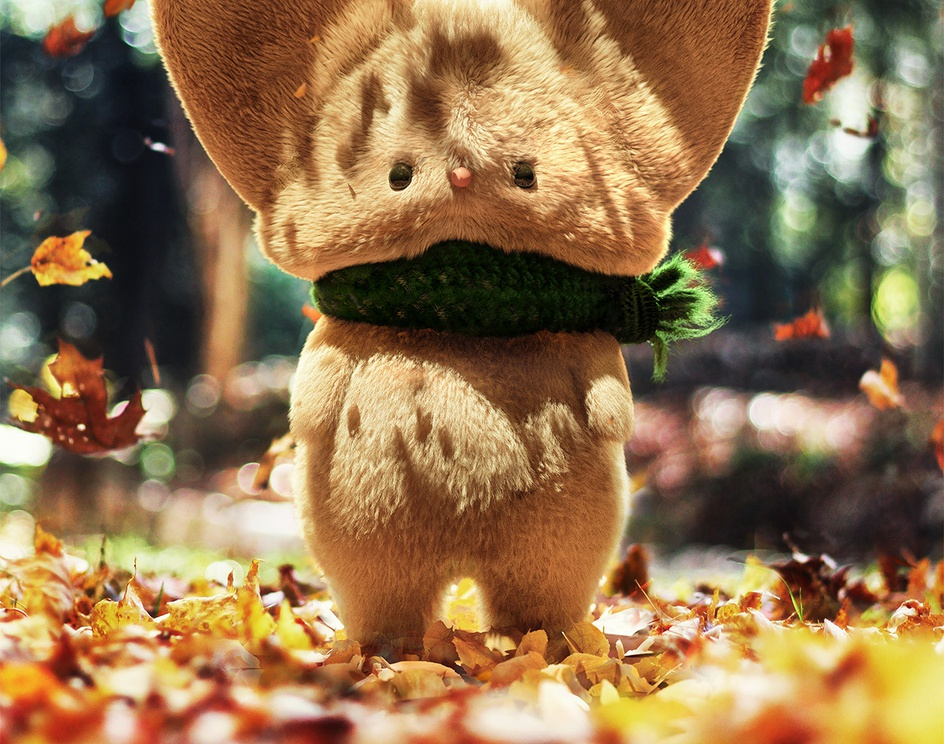 Timothy the autumn mouseby Jesus FC