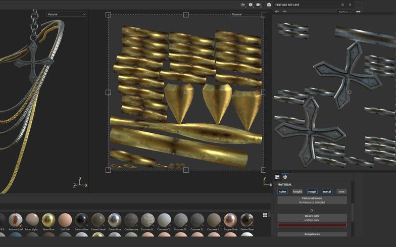 sculpting texturing 3d model rendering