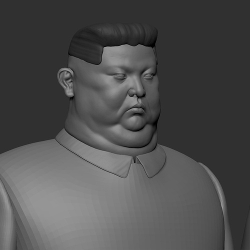 sculpting 3d male model