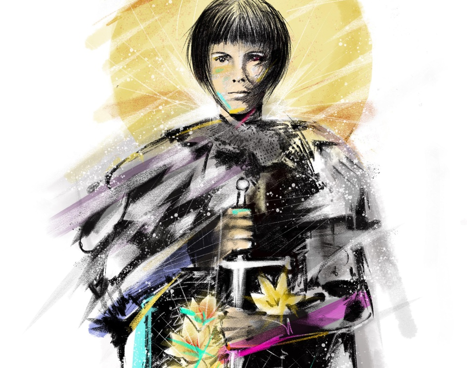 Joan of Arc- In the midstby Ritan Chauhan