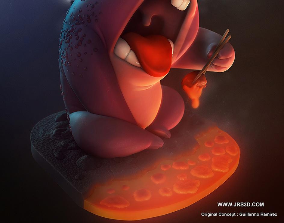 Lava Monsterby José_Augusto_Jrs3D