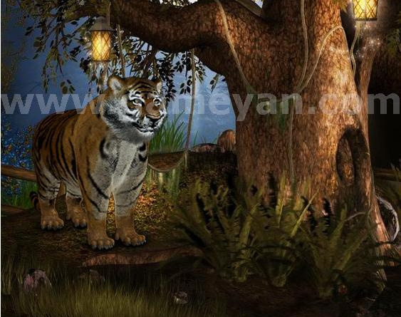 Tiger – Realistic character animation By GameYan Game Art Outsourcing Studioby GameYan