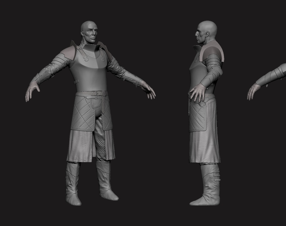 Medieval Sergeant - real time characterby Redjack