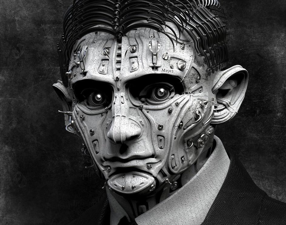 Portrait of Franz Kafkaby Kazuhiko Nakamura