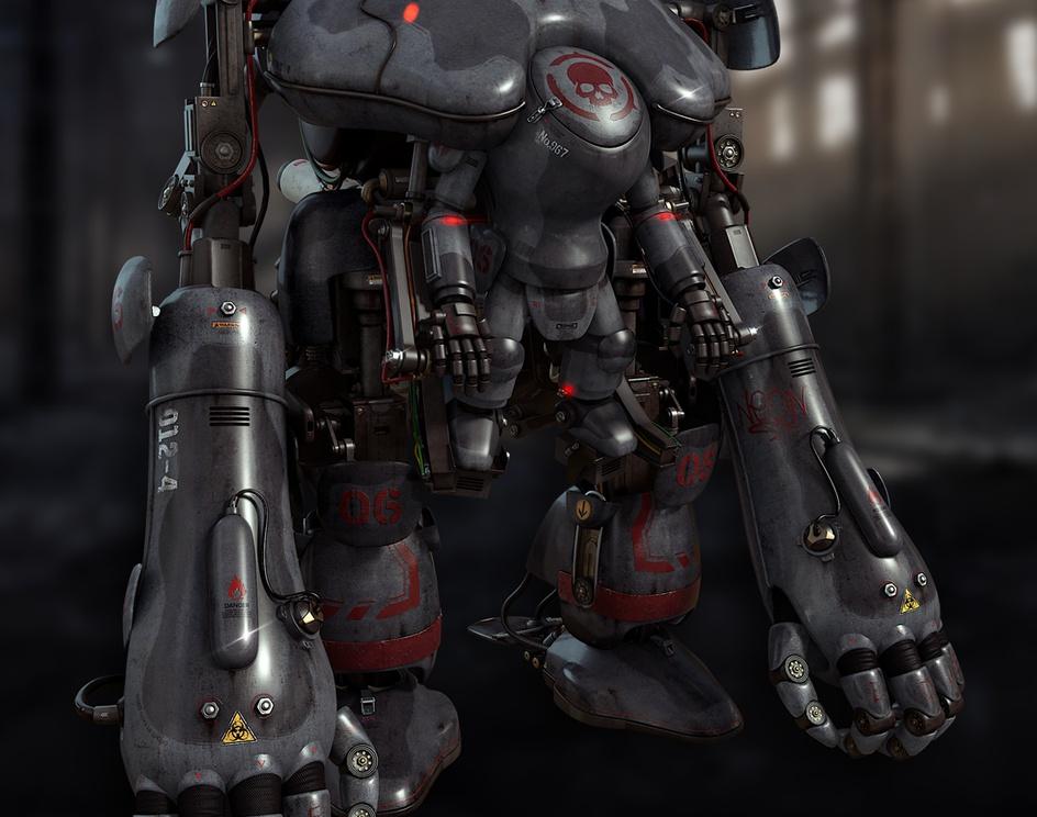'Fan art of Maschinen Krieger'by kaiyu