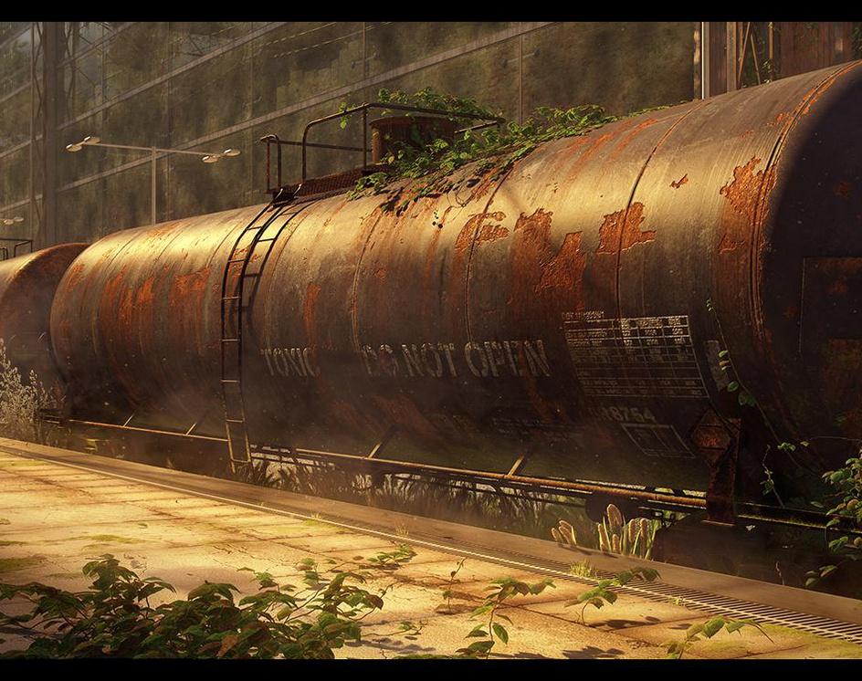 Abandoned toxic wasteby kajuzas