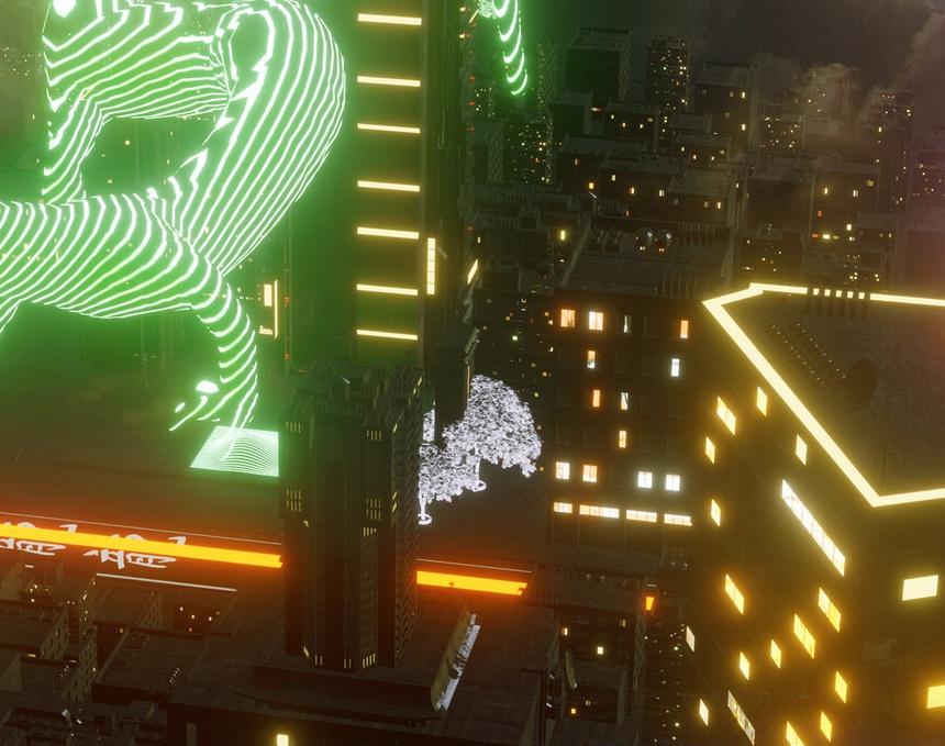 Neon Nightby Karyna Yurchenko