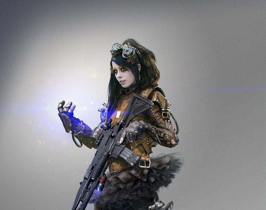 Soldier F conceptby kashivan