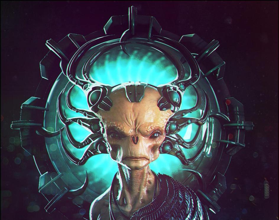 Alien Doodle October 2016by KC-Production