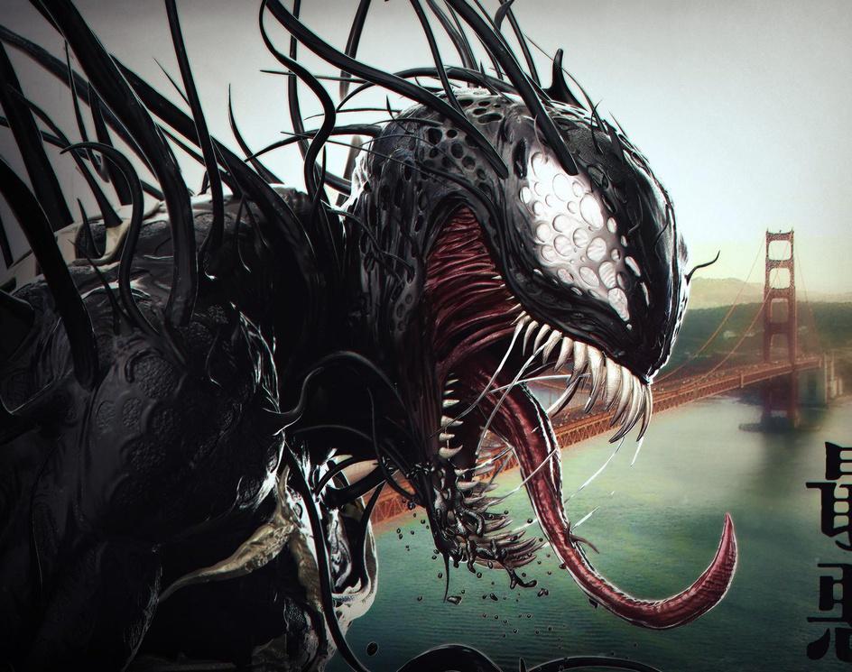 Venom Seperation Anxiety - Midnight Doodleby KC-Production