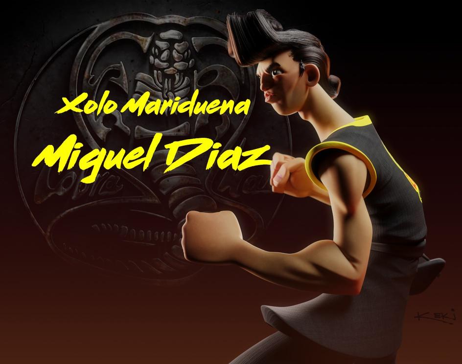 Miguel Diaz, Cobra Kai Fanartby Igor Kekeljevic Keki