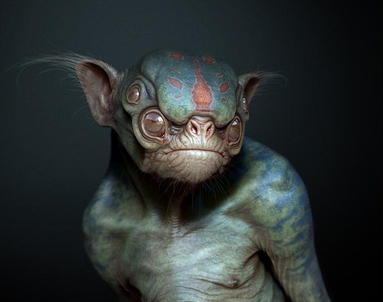 Alien Creatureby Ken Barthelmey