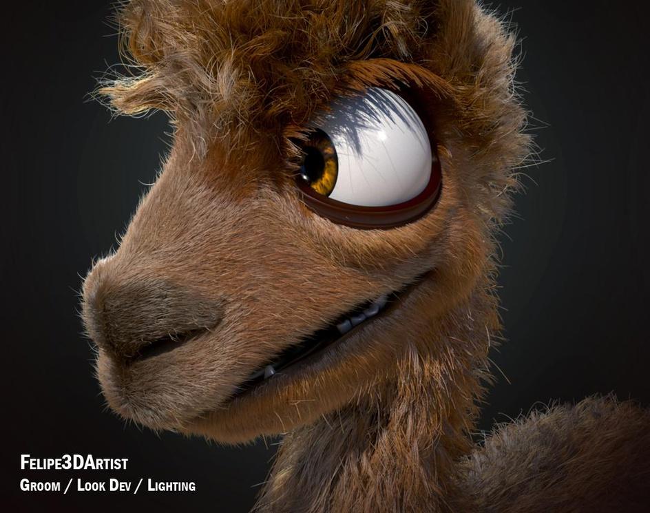 Kero - Alpaca Turntable - Groom TDby felipe3Dartist