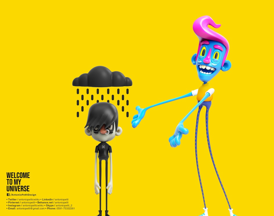 3d Character Illustrationby Antonio Petit