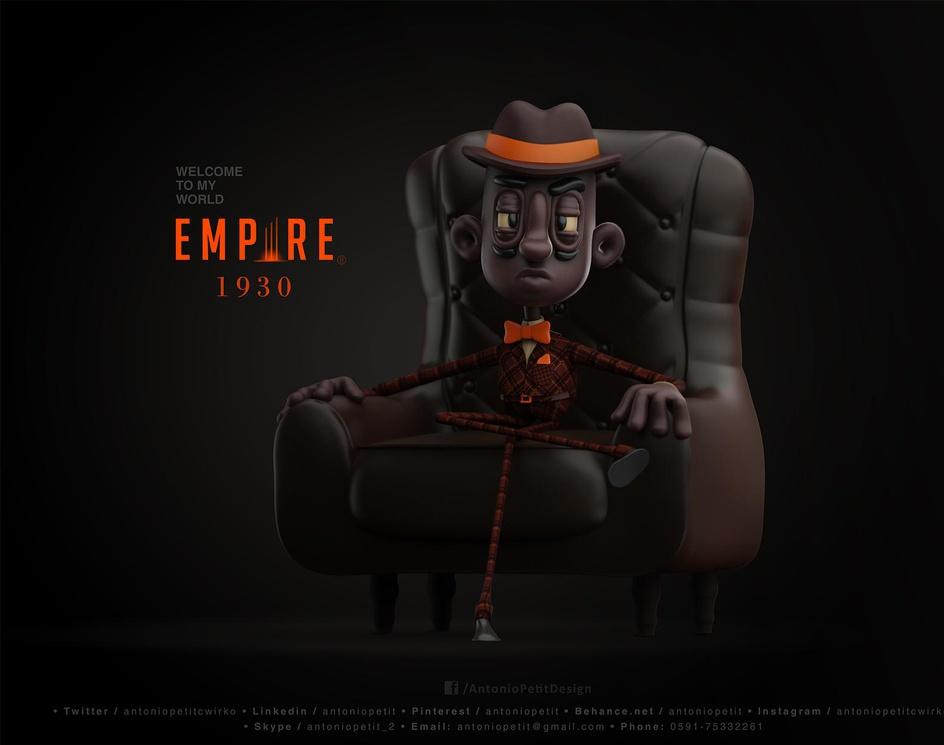 Empire 1930by Antonio Petit