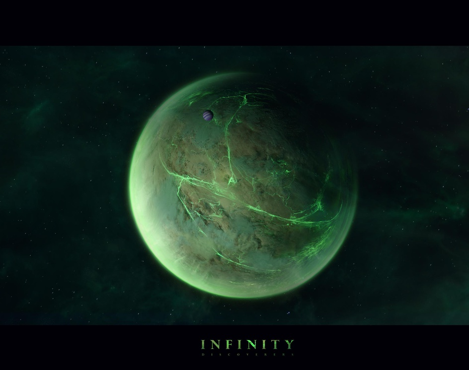 Green Planet. Infinity. Discoverersby Erich Zibert
