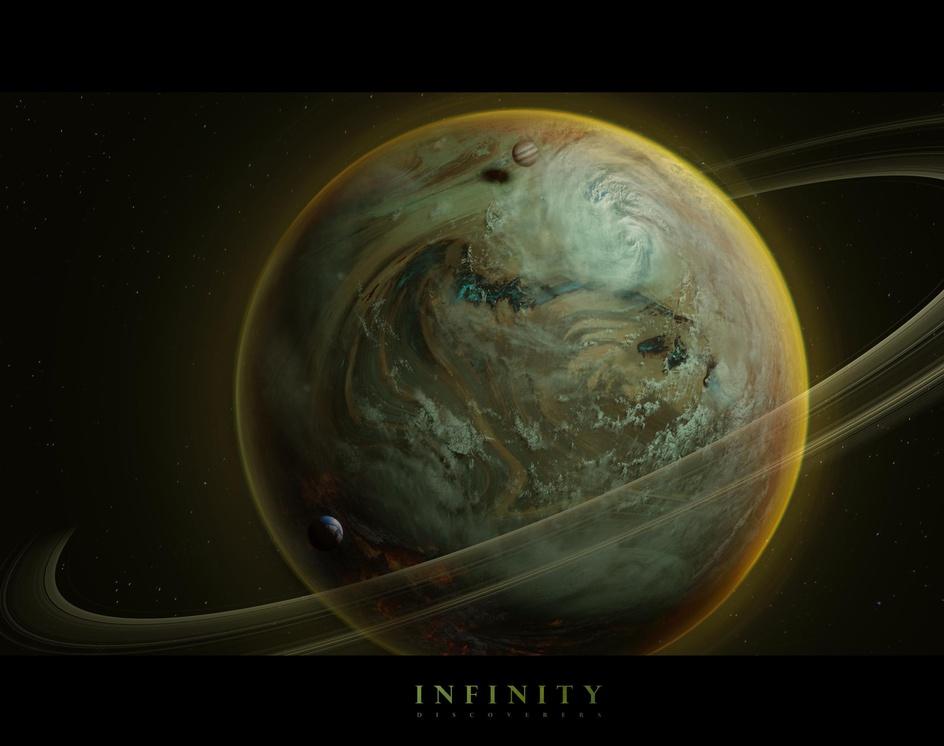 Planet 4 . Infiniti. Discoverersby Erich Zibert